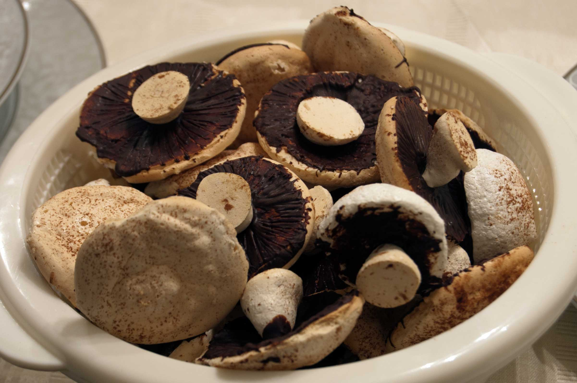 Mushroom Meringues Recipes — Dishmaps